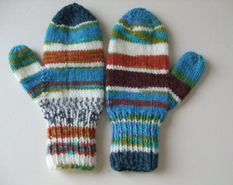 Handknit Mittens - Don't Know Your Right Hand from your Left