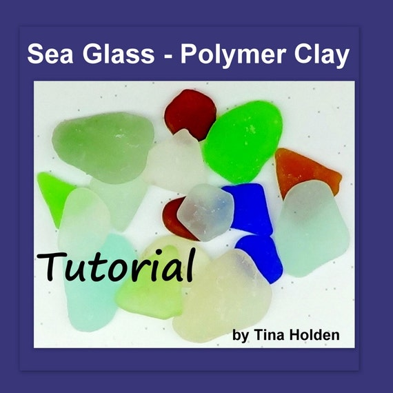 Faux Beach Glass Fimo