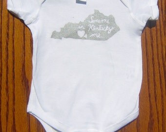 Someone in Kentucky Hearts Me Onesie/Toddler Tee Shirt