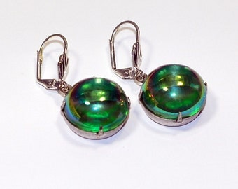 Absinthe Bold Drops Earrings Cauldren Bubbled Over