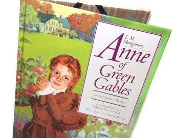 IPad Mini Cover Anne of Green Gables book, Kindle Case, Tablet Device Accessories, Geekery Gadget