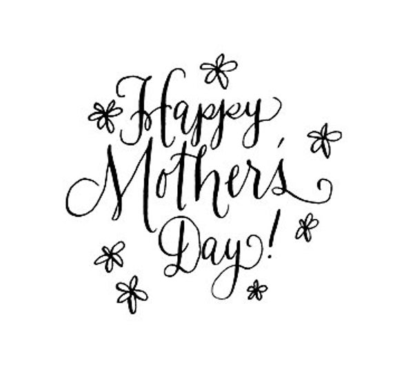 Clearance Happy Mother 39 S Day Hand Lettered Calligraphy
