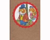 Well Dressed Tiger Kraft Pocket Journal