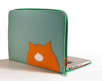 "Laptop Case - 15"" MacBook Pro - Fat Cat"