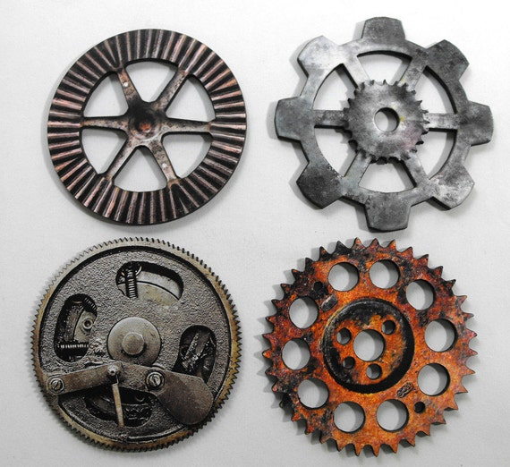 Basket Weaving Supplies Denver Co : Big gears collection of old and dirty wooden