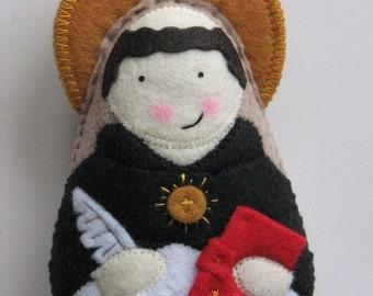 Saint Thomas Aquinas...Felt Softie