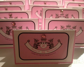 Inspired Juicy Couture Candy Bag Label/Topper