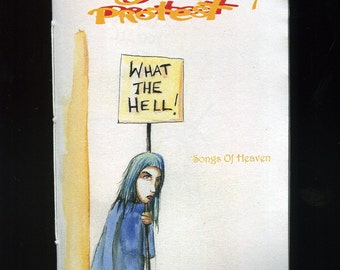 Songs Of Heaven - Songs Of Protest number 7 zine -
