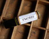 S'mores Perfume Oil Coconut Hemp Roll On - LongWinterSoapCo