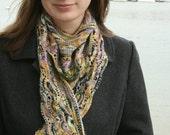 Pattern - Shell Point Shawlette Knitting Pattern by Blarney Yarn