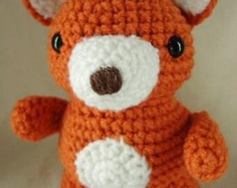 Little Fox Crochet pattern PDF