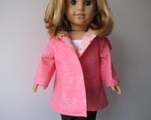 Happy Easter Posy Coat for American Girl or 18 inch Doll