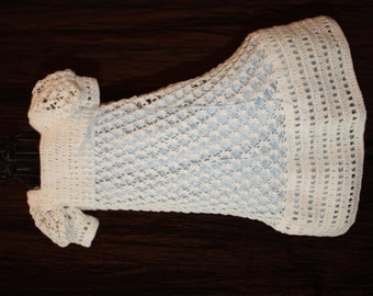 Harper / Christening Gown / Blessing Dress / Baptism Dress / Confirmation / Christening Dress / Crochet Treasured Heirloom