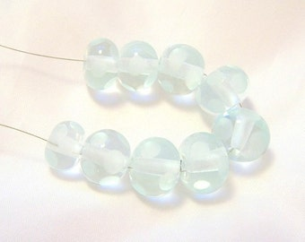 Recycled glass, Vintage Glass beads, Lampwork Beads