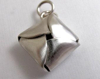 CS10 Little Silver Packet Charm by Erga