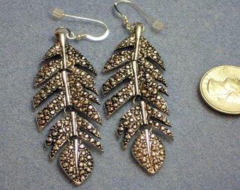 Leaf Dangle Earrings (849)