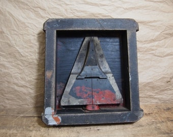 Free Shipping Vintage Arrow Foundry Mold Great Wall Decoration Very Industrial and Architectural Urban Loft  Darth Vader, christmas Tree