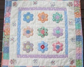 Hexagon Garden Quilt pdf pattern