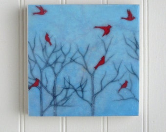 waxed mini - Cardinal Party