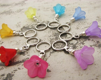 The Flower Market Non-Snag Stitch Markers