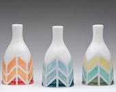 Herringbone Color-way Vase