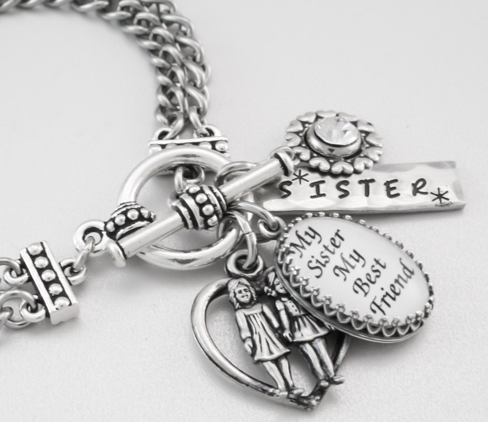 Inspirational Jewelry Jewelry for Sister by BlackberryDesigns