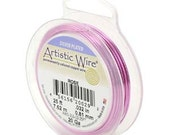 18 Gauge Ga 20-Feet Silver Plated ROSE Artistic Wire 420444