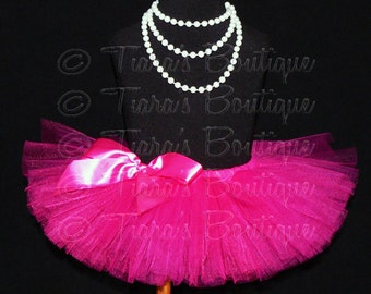 "Tutu Skirt for Girls, Babies, Toddlers - NEW Economy Line Tutu - Design Your Own - 6"" Sewn Tutu - Custom SEWN Tutu - sizes up to 12 months"