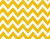 NEW  Ann Kelle's Remix Summer Yellow Chevron Stripes from Robert Kaufman, Yard