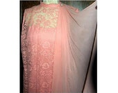 Vintage Coral Pink Dress ...