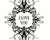 Printable Love Card.