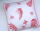 Accent Pillow - Vintage Fern Hankie Pillow Sham