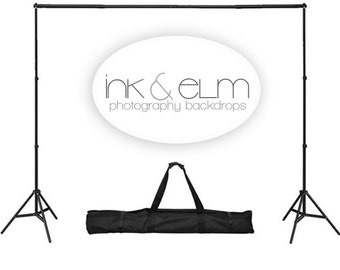 Photography Backdrop Stand LARGE - Backdrop Portable Stand - Backdrop Support System - Photography Studio Equipment