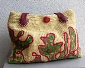 Knitted bag Kadinela No.324