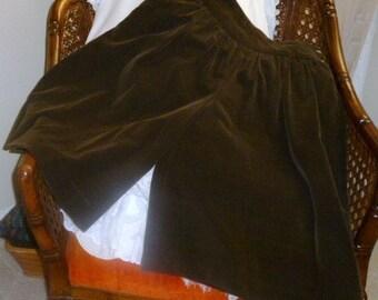 Vintage Corduroy Liz Claiborne Split Skirt