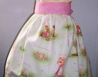 LAST ONE SALE My Carrie Boutique Ruffle Collar Peasant Dress Nursery Rhymes
