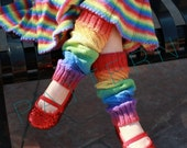 Munchkin Legwarmers and Dress Pattern Set (pdf knitting pattern)