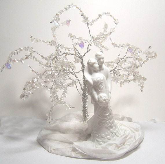 Items similar to Wedding Cake Topper Tree of Life ...