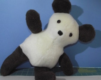 Teddy Bear MISFIT with Movable Arms and Legs, Stuffed Bear Plushie Toy to give to loved ones...Complete