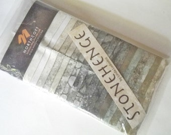 Stonehenge EVERST Everest Jelly Roll Quilting Strips Northcott Fabric Stones