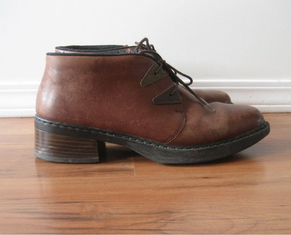 items similar to vintage sale 80s boots mens leather