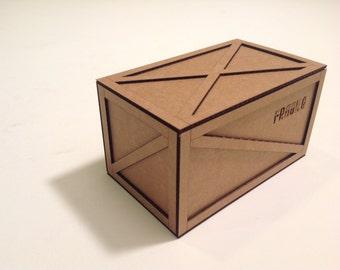 Felicity Miniature shipping crate kit (medium) custom order