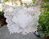 Small lace table cloth