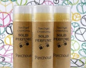 PATCHOULI Solid Perfume with Cocoa Butter and Vitamin E - .15oz Oval Tube - LAST ONES