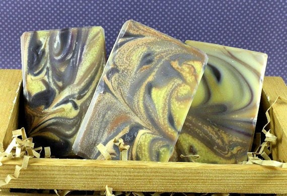 GEISHA Cold Process Soap with Olive Oil and Shea Butter - VEGAN (asian spices, oriental florals, woodsy musk) - CLEARANCE