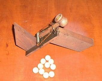 Marshmellow / ball gun wooden mousetrap