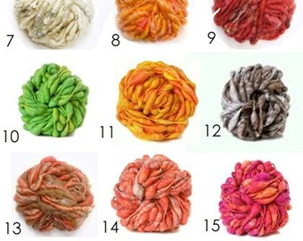 """Yarn by the yard Knit Collage Pixie Dust - for Newborn Photo Props in """"Welcoming Home Baby the Handcrafted Way"""" 3.5 yds"""