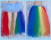 MLP Rainbow Dash Pony trashy bustle TuTu MTCoffinz ALL SIZES
