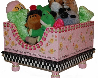 Pretty In Pink Pet Toy Box by Jakey BB