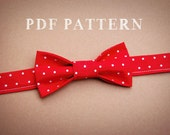 Boy and Toddler Bow Tie PDF Sewing Pattern and Instructions